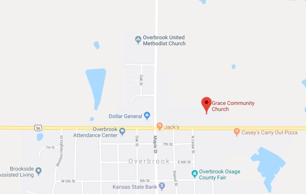 Grace Community Church 310 E. 8th St. Overbrook, KS 66524