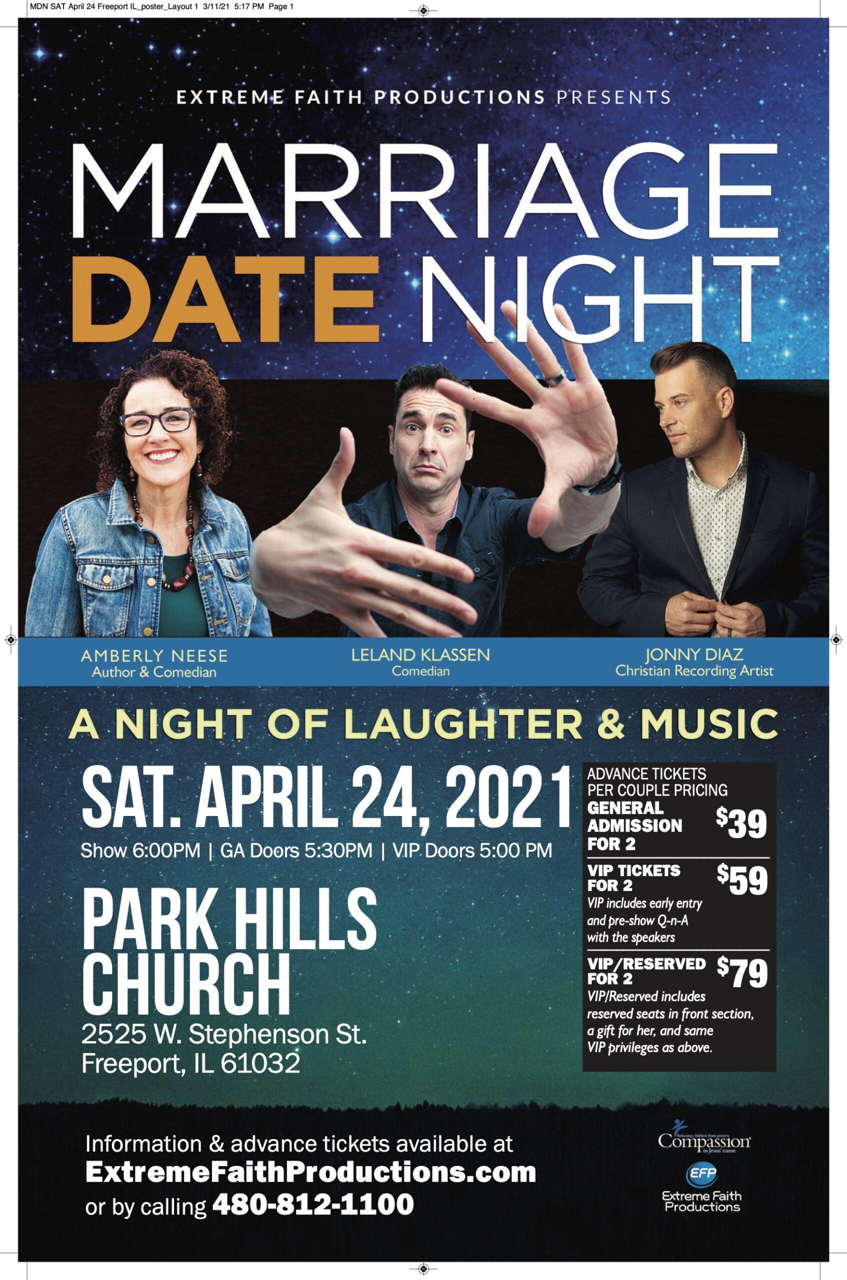 MDN SAT April 24 Freeport IL_poster